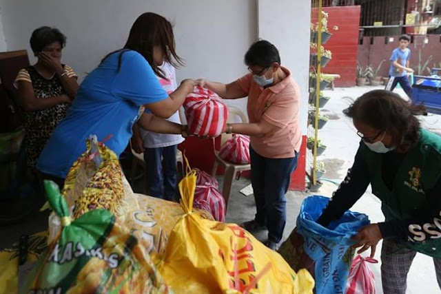 Taguig City to distribute family food packs for Taguigeños