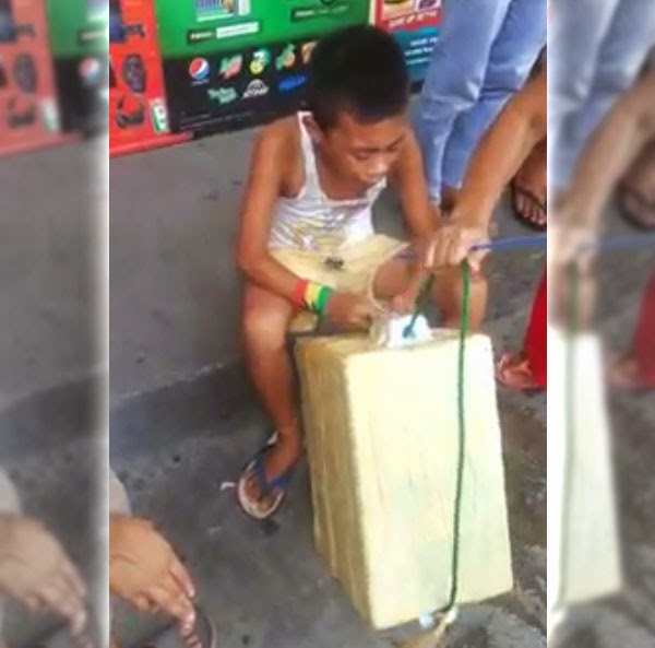 Robbed Pandesal Vendor