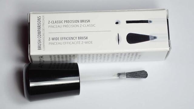 wide nail polish brush