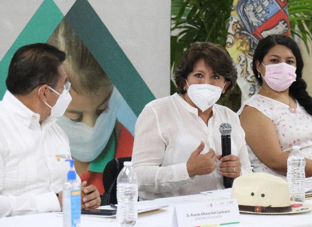 Presentan el Plan para la Reactivación Escalonada Mixta de los Servicios Educativos en Campeche