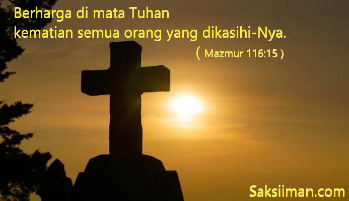 Ayat Alkitab Tentang Kematian Untuk Renungan dan Penghiburan