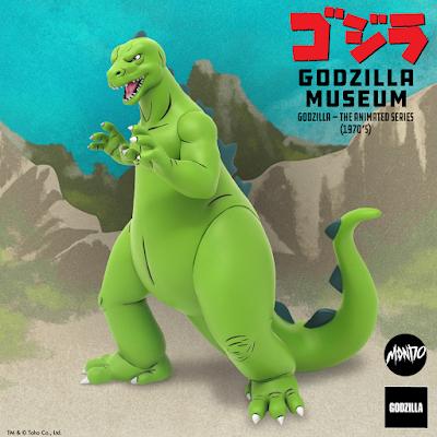 Godzilla: The Animated Series (1970s) Godzilla Museum Statue by Mondo