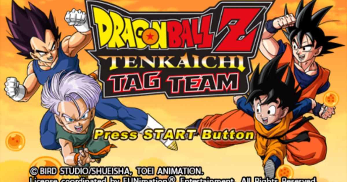 Dragon Ball Z - Tenkaichi Tag Team Mod Ultra V6 PPSSPP CSO ...