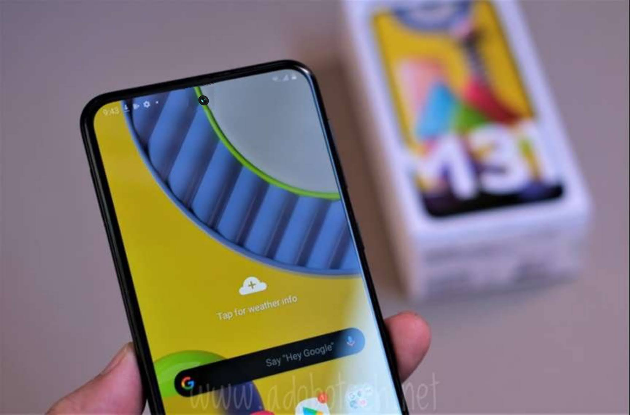 Samsung Galaxy M31s with Punch Hole Display, 6000mAH Battery Launched: Full Specifications, Price