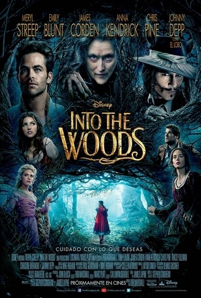 Poster: Into the Woods (2014)