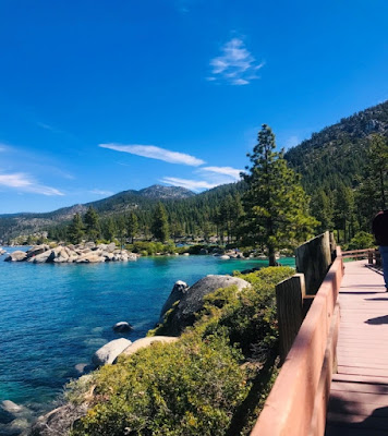 Beautiful Lake Tahoe in the summer