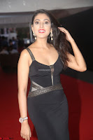 Madhu Shalini in a Glamorous Deep neck Black Sleeveless Dress at Mirchi Music Awards South 2017 ~  Exclusive Celebrities Galleries 050.JPG