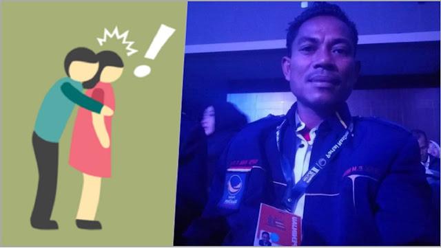 Anggota DPRD NTT dari Nasdem Nekat Remas Pay*dara IRT Saat Suami Korban di Toilet