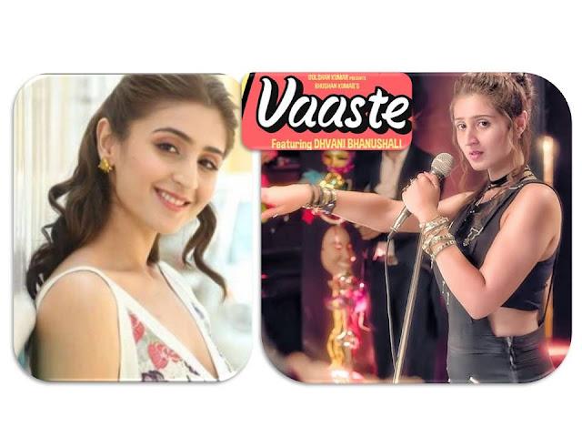 Vaaste Song Lyrics | Hindi | Dhvani Bhanushali | Nikhil D'Souza