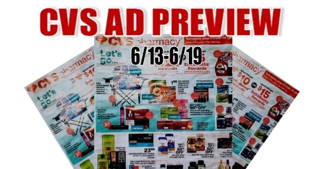 CVS Ad Scan 6/13 to 6/19
