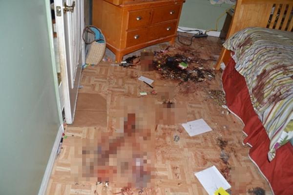 Căn phòng nơi Tyler giấu xác bố mẹ mình.