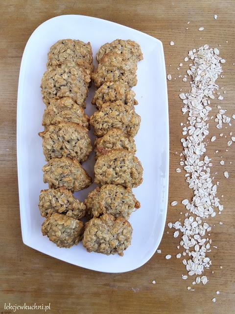 Ciasteczka owsiane w 5 minut przepis