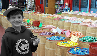 Kid In A Candy Shop