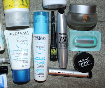 April 2016 Empties