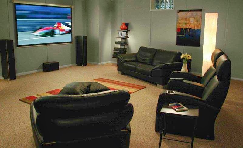 entertainment room design ideas