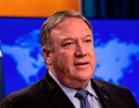For Iran Crisis Talk, Mike Pompeo Arrives In Saudi Arabia