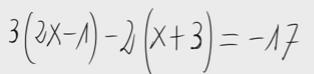 31. Ecuación de primer grado
