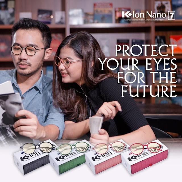 kacamata terapi K-LINK, Kacamata kesehatan, kacamata anti UV  Kacamata Terapi K-Ion Nano Premium 7