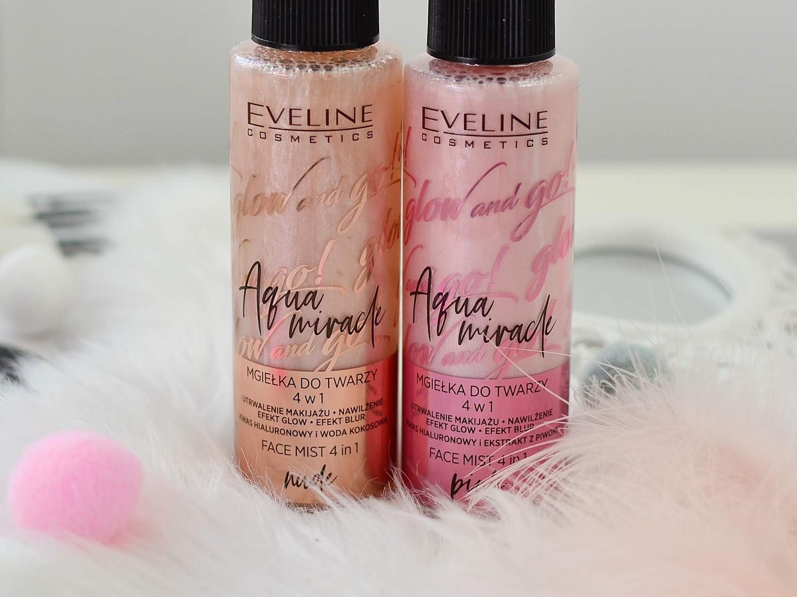 efekt glow w butelce eveline aqua miracle