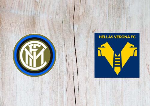 Internazionale vs Hellas Verona -Highlights 25 April 2021