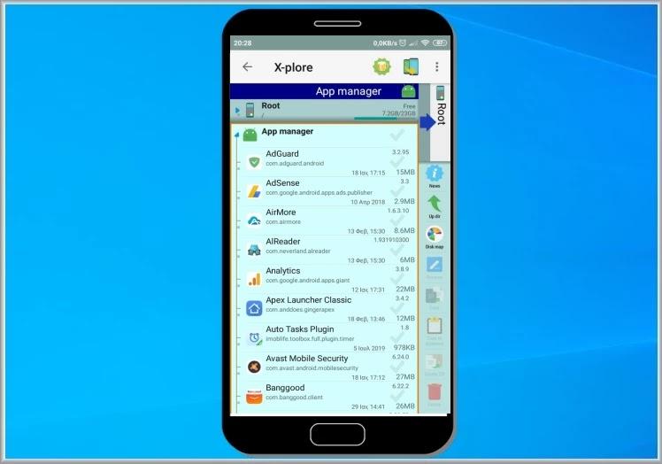 X-plore File Manager : Διαχειριστείτε αρχεία και εφαρμογές στο κινητό σας