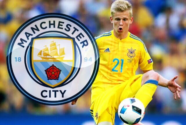 OFICIAL: Oleksandr Zinchenko é o novo reforço do Manchester City