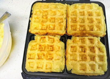 Cassava with Mojo Waffles in a square Waffle Maker (Whole30, AIP, Vegan).jpg