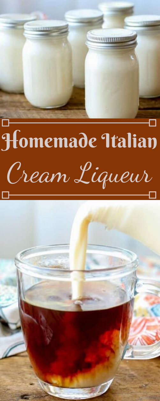 Italian Cream Liqueur #drink #party #sangria #cocktail #easy