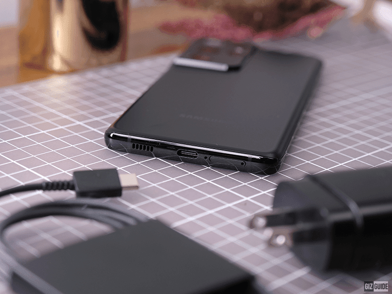 USB-C charging support