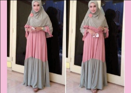 Model Baju Muslim Untuk Ibu Hamil