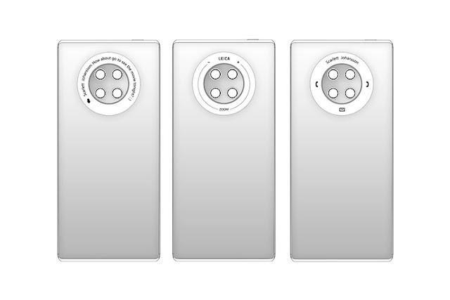 براءة اختراع تكشف عن ميزات مثيرة في هاتف Huawei Mate 40