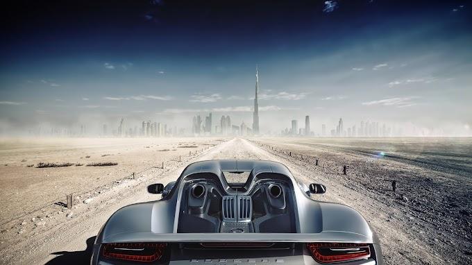 Carro Tunado Porsche Spyder em Dubai