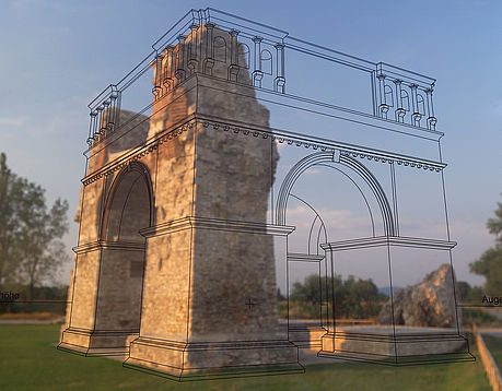 Application of Augmented Reality in archeology