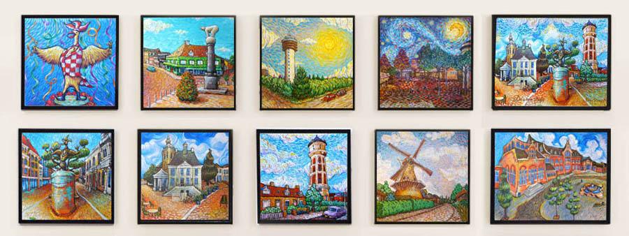 Roosendaal Like Van Gogh by Erika Stanley