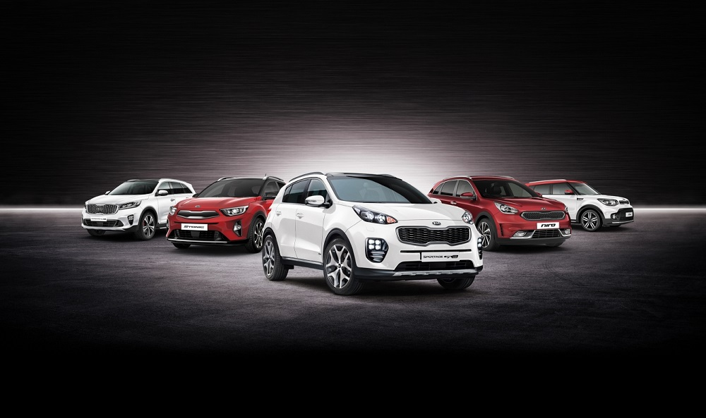 Kia starts new year with SUV event in the UK