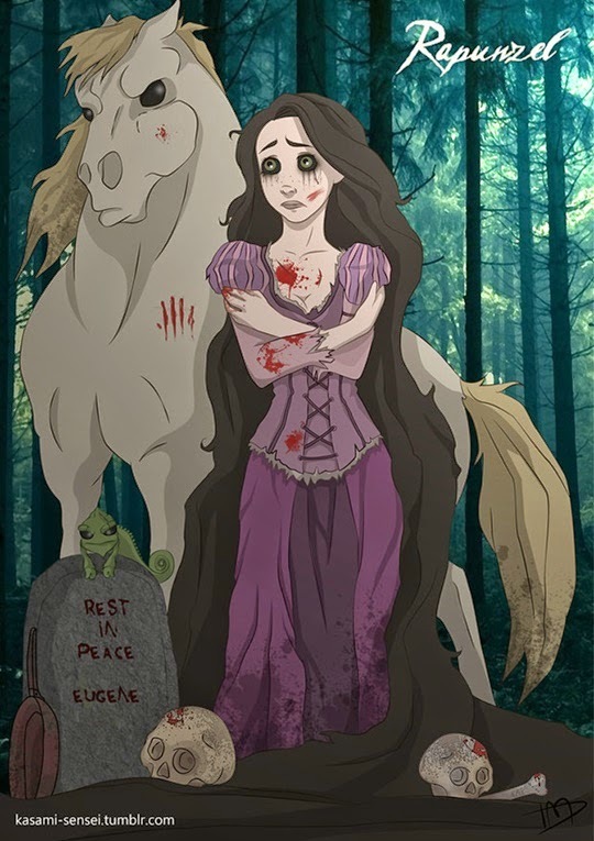 Disney Princesses-Transformed-17