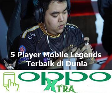 5 Player Mobile Legends Terbaik di Dunia