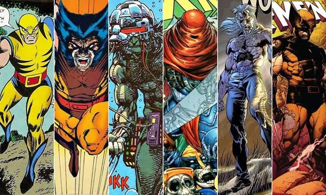 Todas las versiones y trajes de Wolverine (Logan) en cómic
