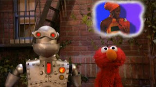 The Memorybot tells Elmo that he doesn't know what the alphabet is. Sesame Street The Best of Elmo 2