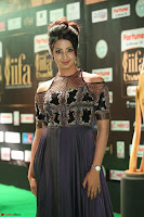 Sanjjanaa Galrani aka Archana Galrani in Maroon Gown beautiful Pics at IIFA Utsavam Awards 2017 42.JPG
