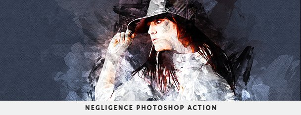Grunge Painter Photoshop Action - 110