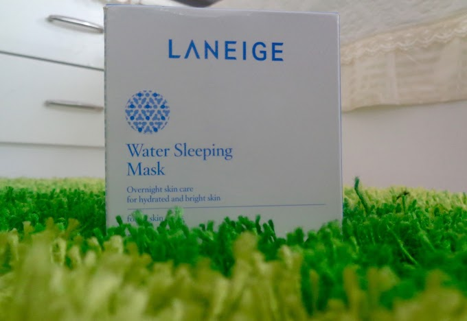 Review: LANEIGE Water Sleeping Mask