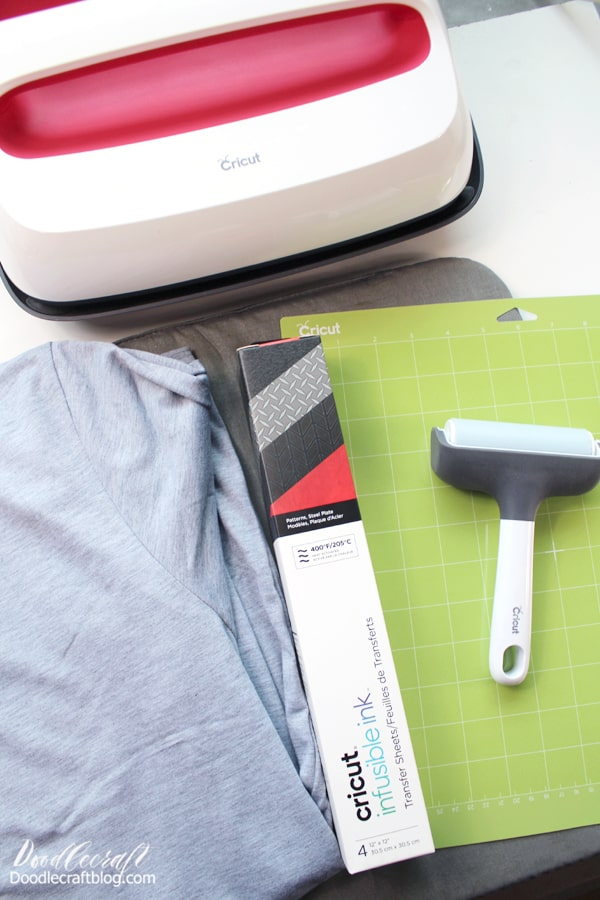 How to make an Infusible Ink shirt using the Cricut Maker and EasyPress 2.