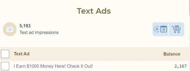 easyhits4u add text ads