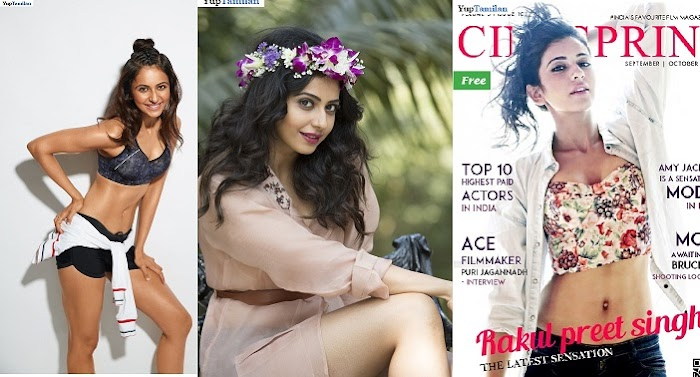 Rakul Preet Singh Magazine Cover Photoshoot Pictures-Latest Images
