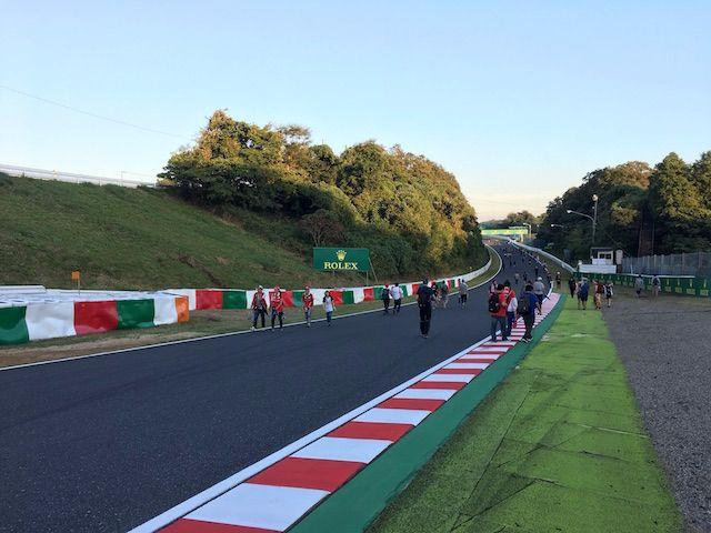 F1日本グランプリ2017 西コーストラックウォーク 西ストレート