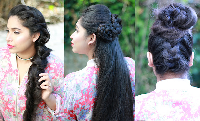 Shahnaz Shimul - How To: 3 Party Hairstyles | Cute Everyday Hairstyles