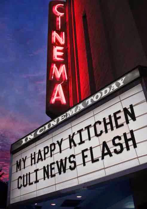 My happy kitchen culi news flash