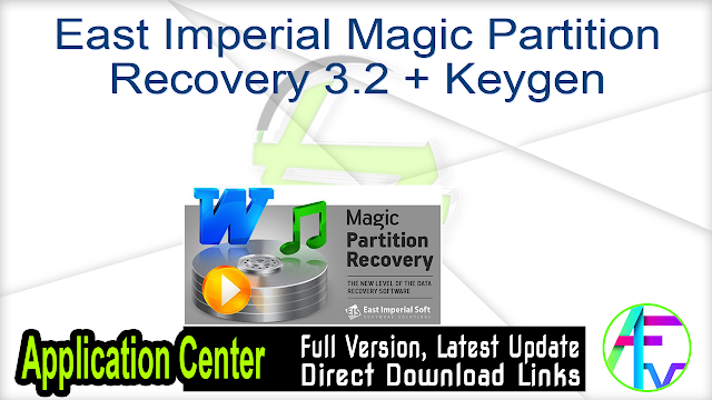East Imperial Magic Partition Recovery 3.2 + Keygen