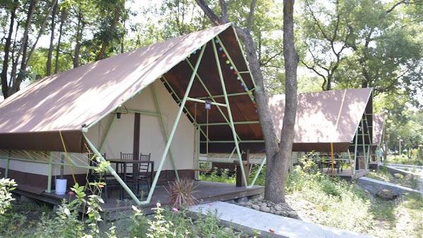 社頭清水岩《清水那方》豪華露營 打造彰化社頭特色地標